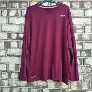 Nike Dri-FIT men's size XXL long sleeve tee